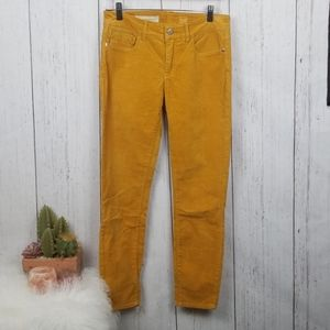 Pilcro and the letterpress gold/yellow Corduroy 27